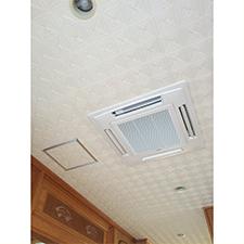 天井埋込エアコンの施工後