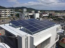 太陽光発電設置例
